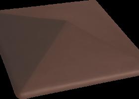 Керамічна шляпа Kоричнева