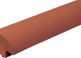 Обробна плитка для огорож Червона