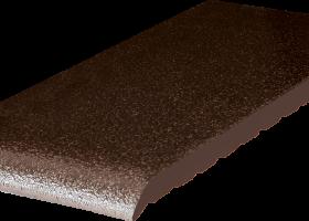 Клінкерні підвіконня (02)Коричневий глазурований